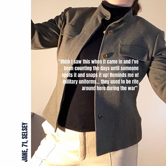 MAX MARA Military Cropped Jacket