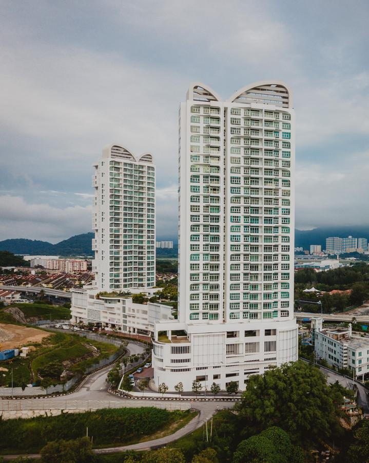 South Bay Condominium Aerial