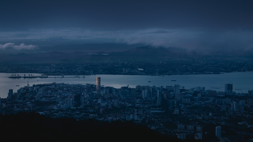 First light in Penang (Penang Hill Edition)