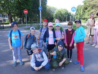 27 мая состоялся однодневный поход для учащихся 2 класса.