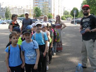 31 мая состоялся поход первого класса.