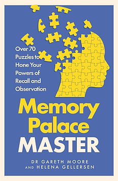 Memory Palace Master: Over 70 Puzzles to Hone Your Powers of Recall and Observation