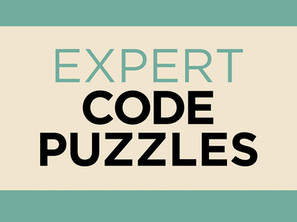 The Turing Tests Expert Code Puzzles