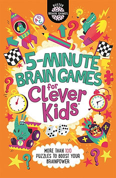 5-Minute Brain Games for Clever Kids®