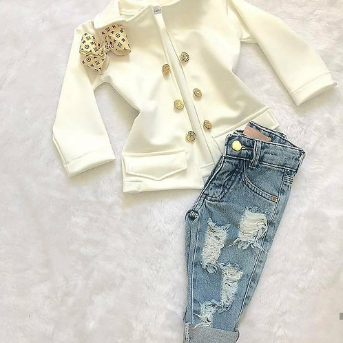 Calça jeans + blazer