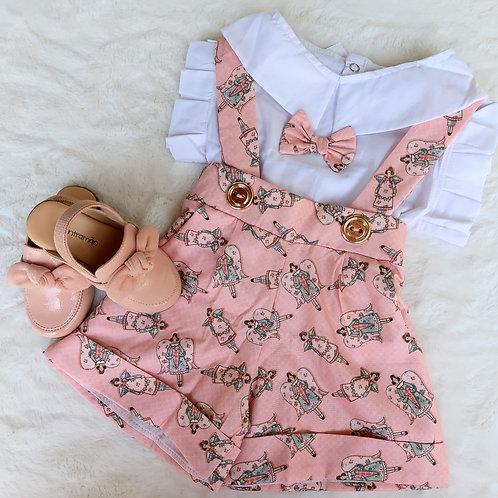 Salopete + blusa
