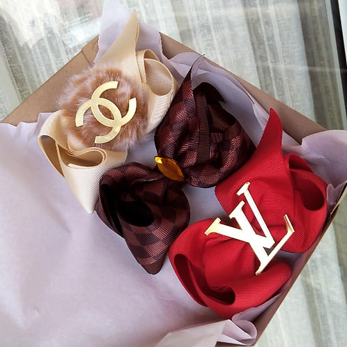 CHANEL / LOUIS VUITTON / LOUIS VUITTON VERMELHO