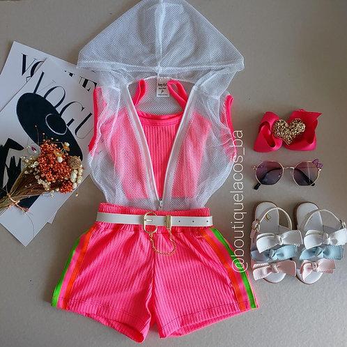 Conjunto Neon Rosa