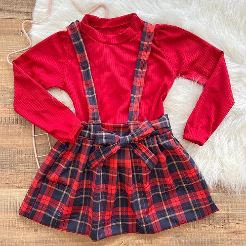 Salopete +blusa