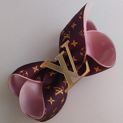 LAÇO LOUIS VUITTON / ROSA