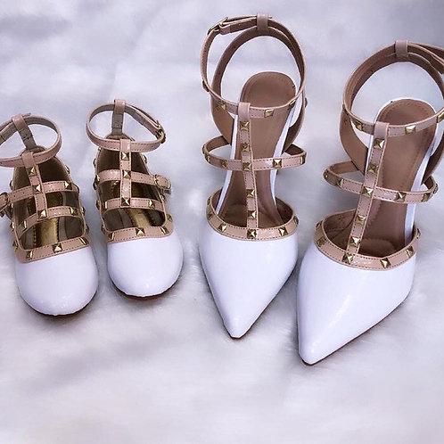 Sapato mãe e filha