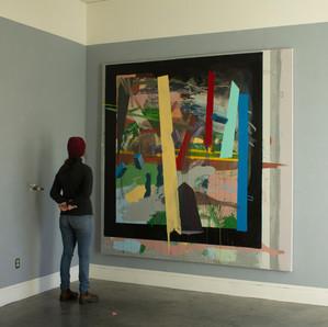Untitled (Black Frame Installation)