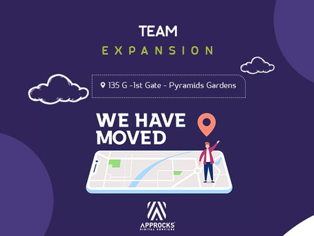 Approcks a relocation - team expansion