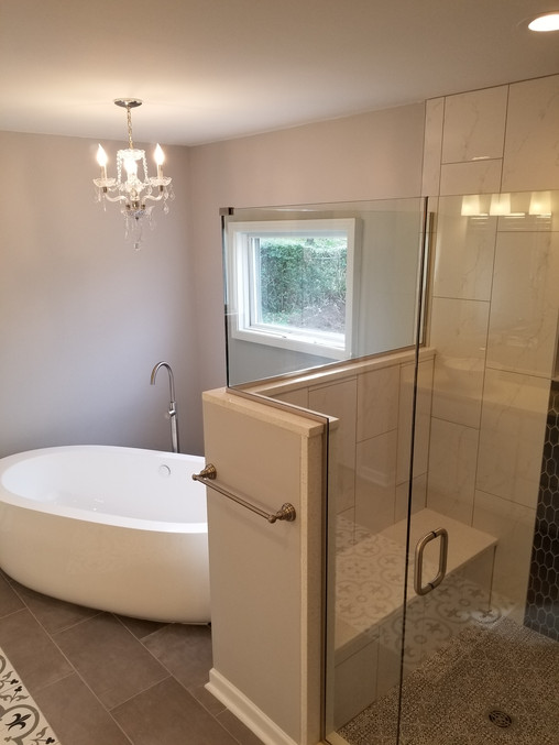 Any bathroom vision you have, we can bring it to life!