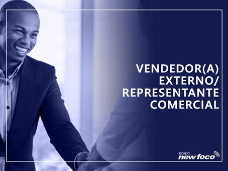 VENDEDOR(A) EXTERNO / REPRESENTANTE COMERCIAL