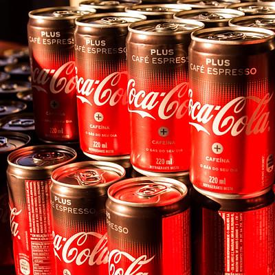 Lançamento Coca-Cola Plus Café Espresso
