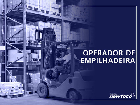 ENCERRADO - OPERADOR DE EMPILHADEIRA