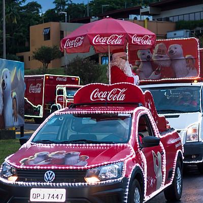 Caravana de Natal Coca-Cola 2018
