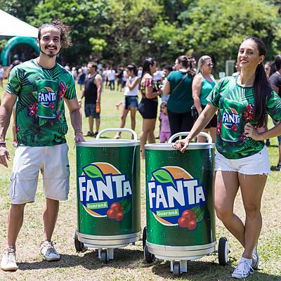 Fanta Guaraná e Del Valle - Parque Curupira