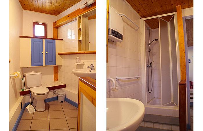 La Bernache, la salle de bain