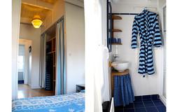 Le Tadorne, chambre et salle bain