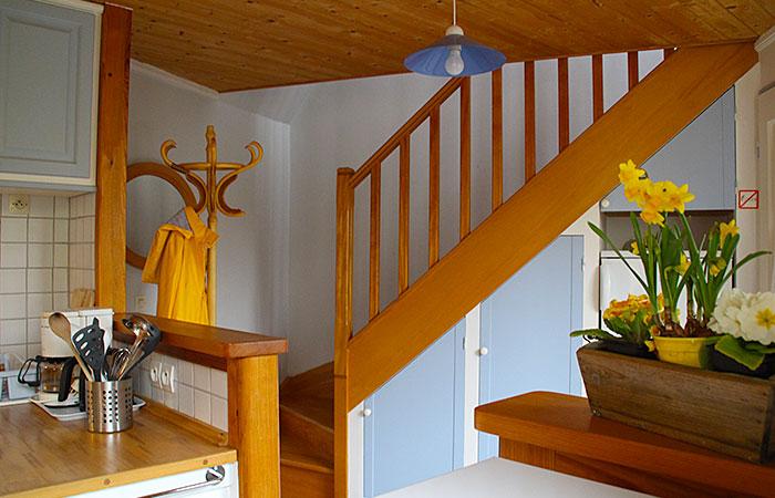 La Bernache, l'escalier