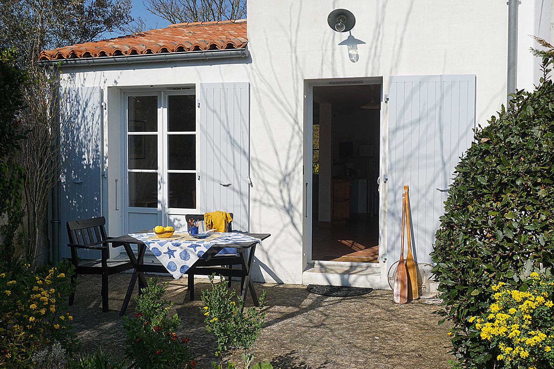 Le Tadorne, la terrasse