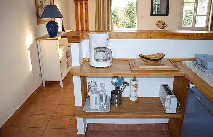 Le Vanneau, la cuisine