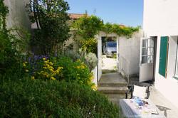 L'Aigrette, la terrasse