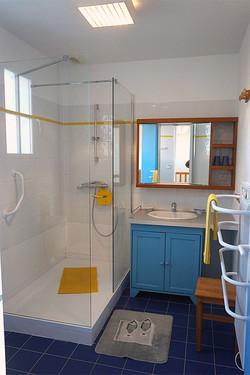 Le Héron, la salle de bain