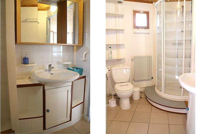 L'Aigrette, la salle de bain