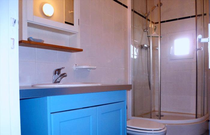 Le Vanneau, la salle de bain