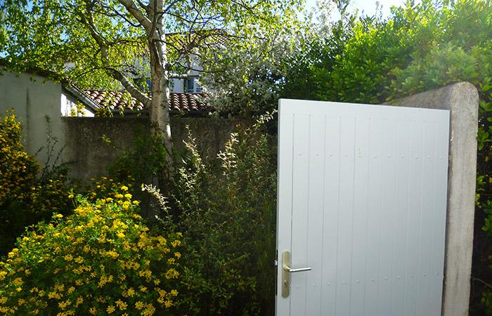 La Spatule, la terrasse, le jardin