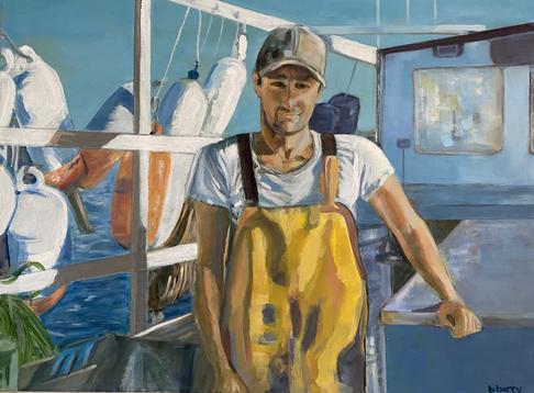 Seaworthy, Midcoast, 18x24