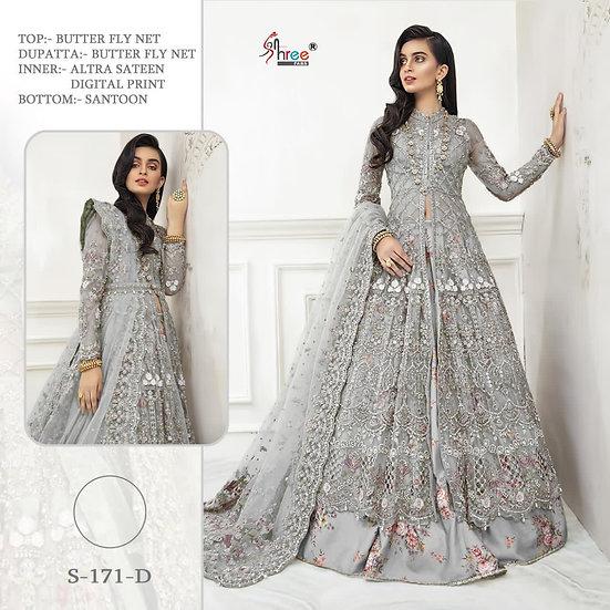 Rinaz pakistani Gown unstich