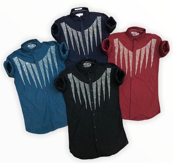 Imported Lycra Diamond Mens shirt