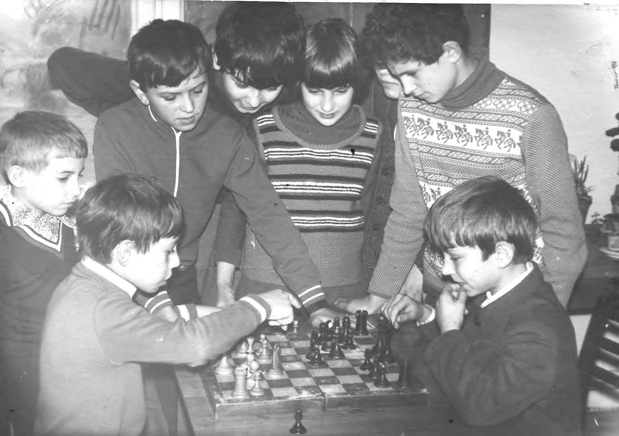 Шахматный кружок, 70-е годы