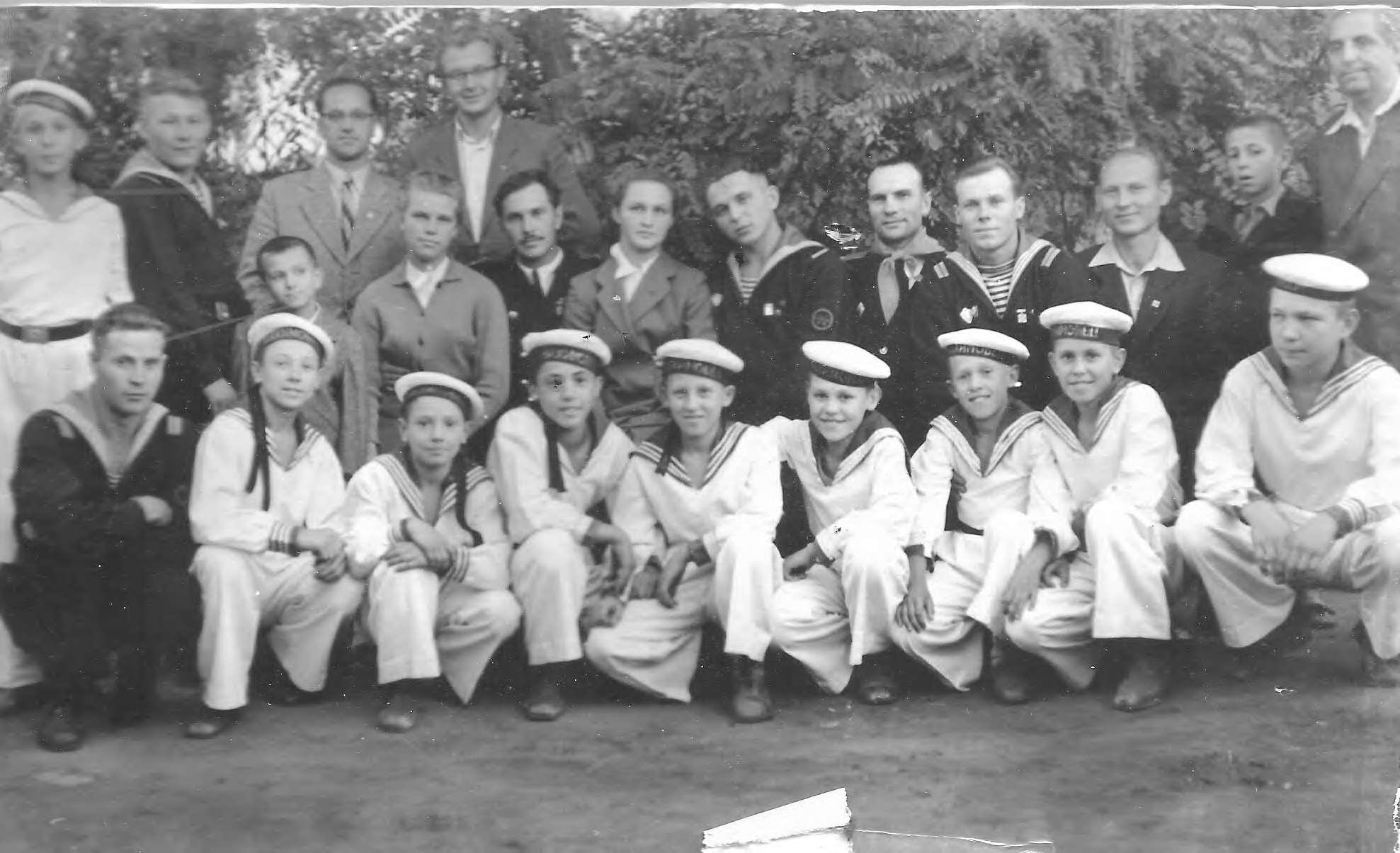 Встреча с моряками Севастополя, сентябрь