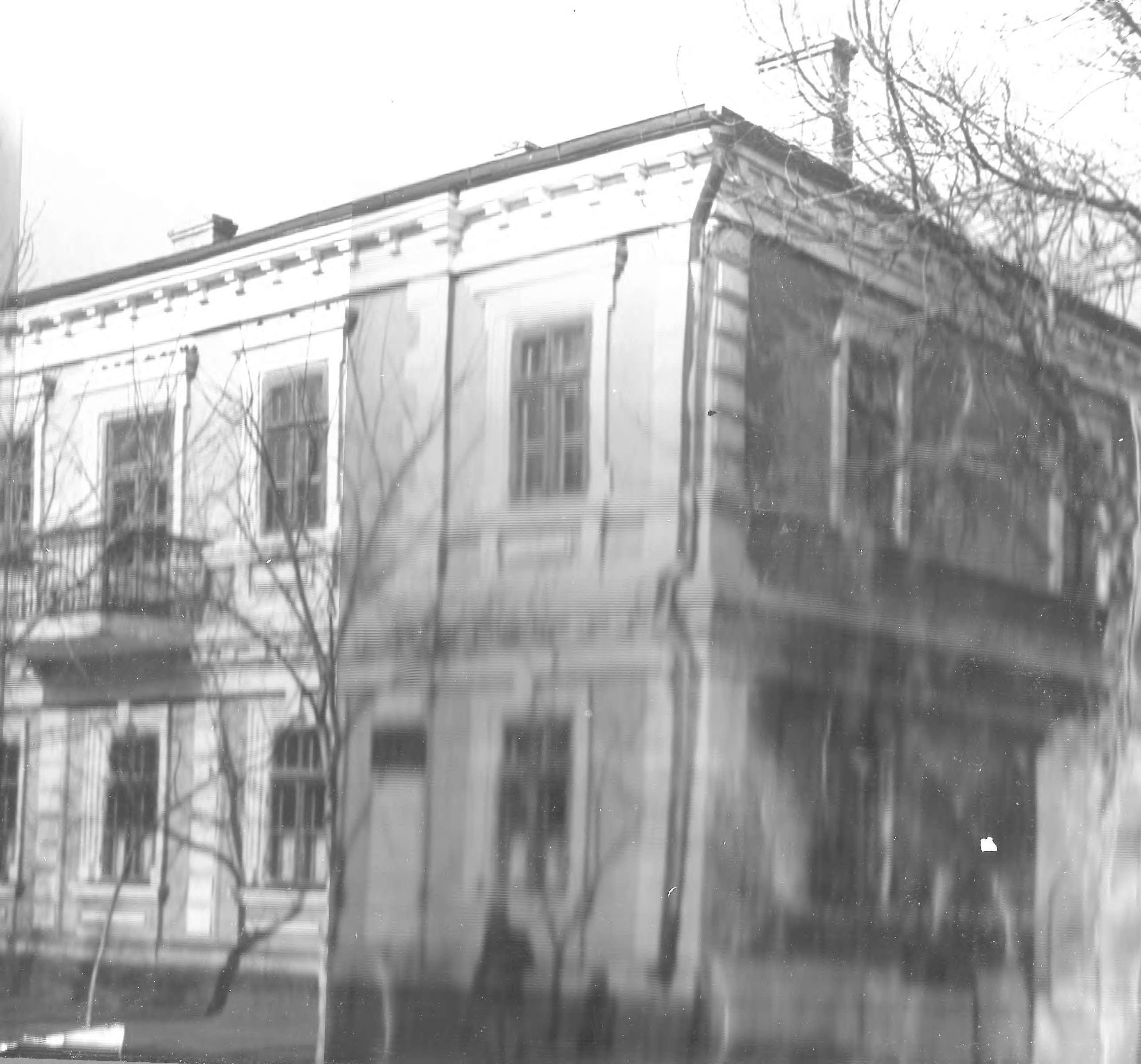 Здание Дома Пионеров по ул.Гоголя, 1962.