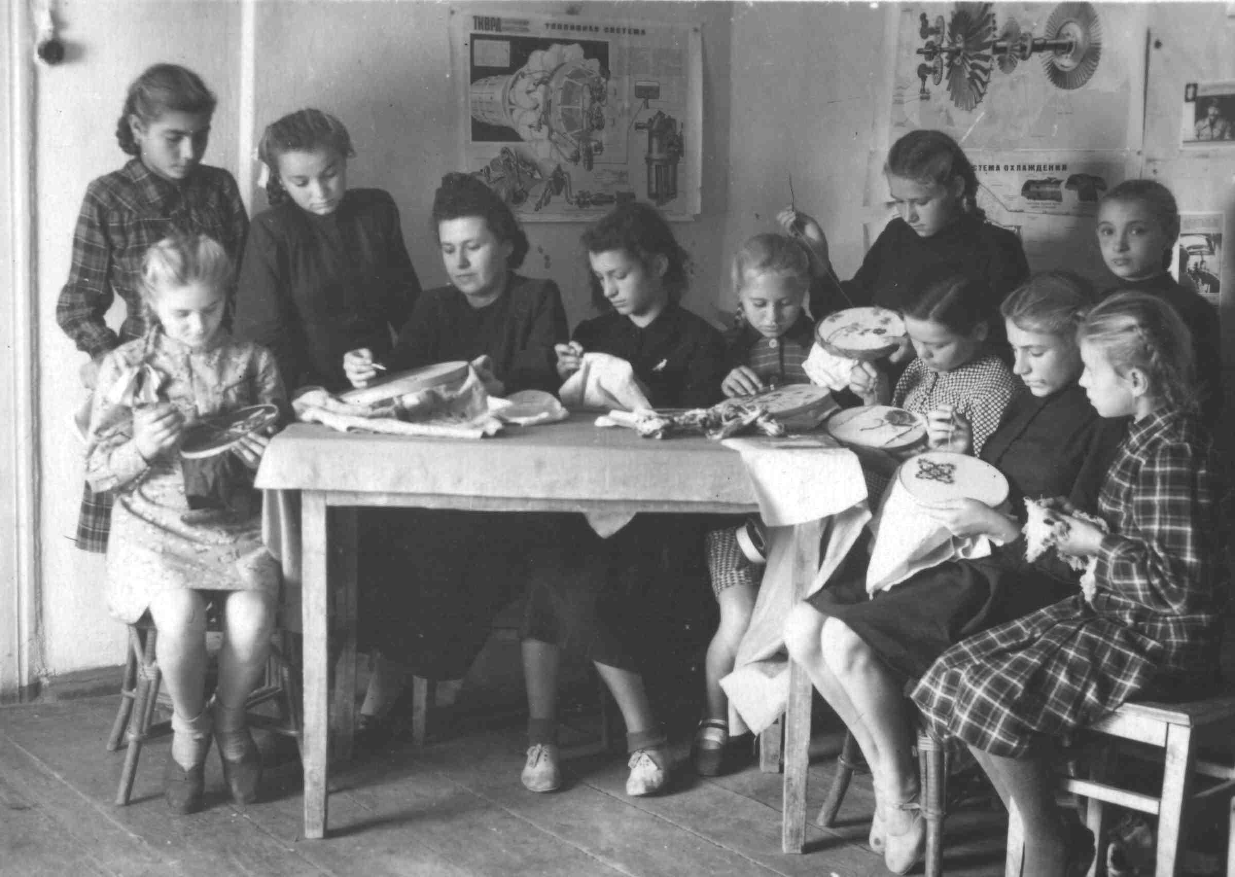 Кружок Рукоделие, 1956