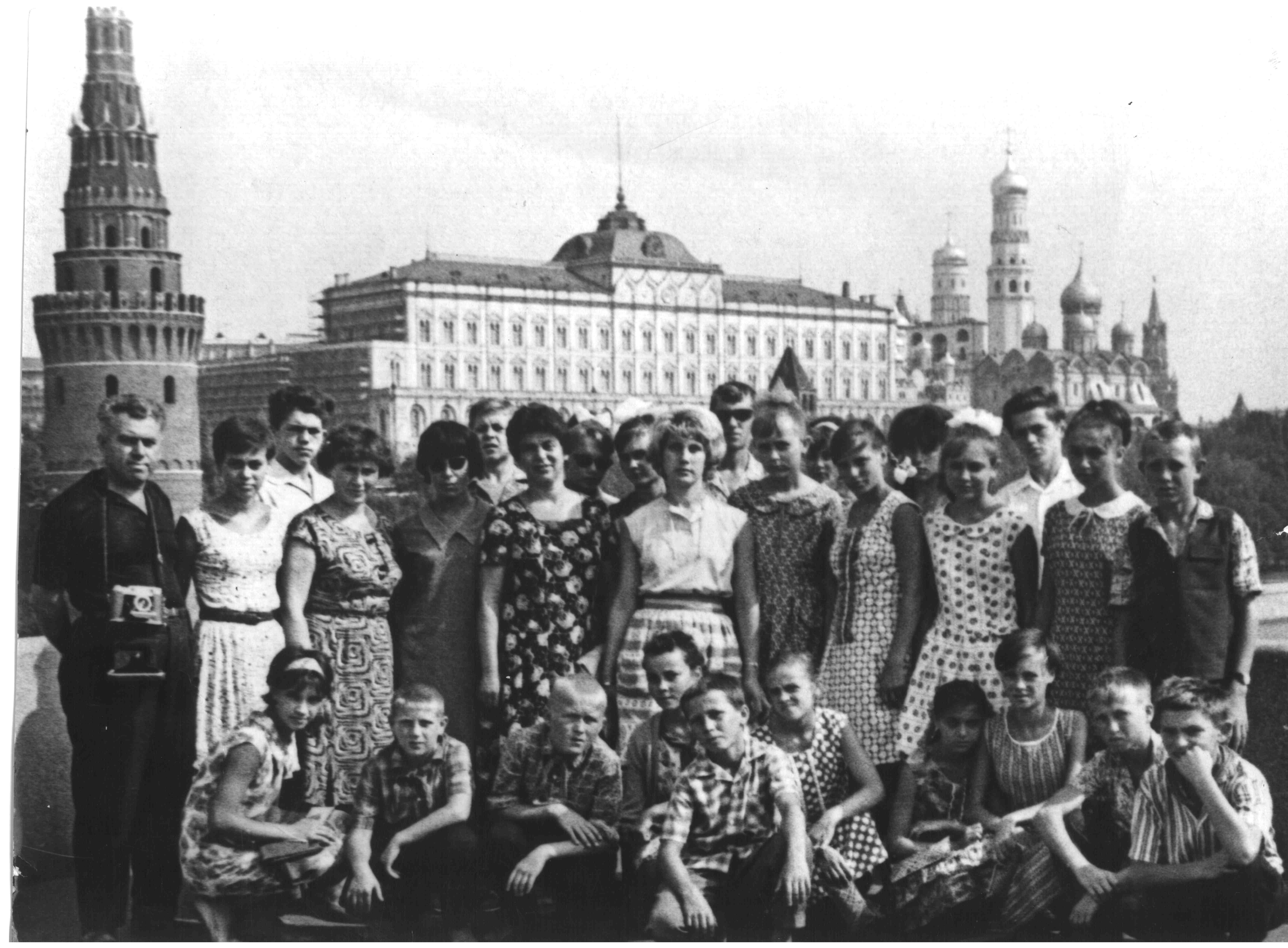 Поездка кружковцев в Москву