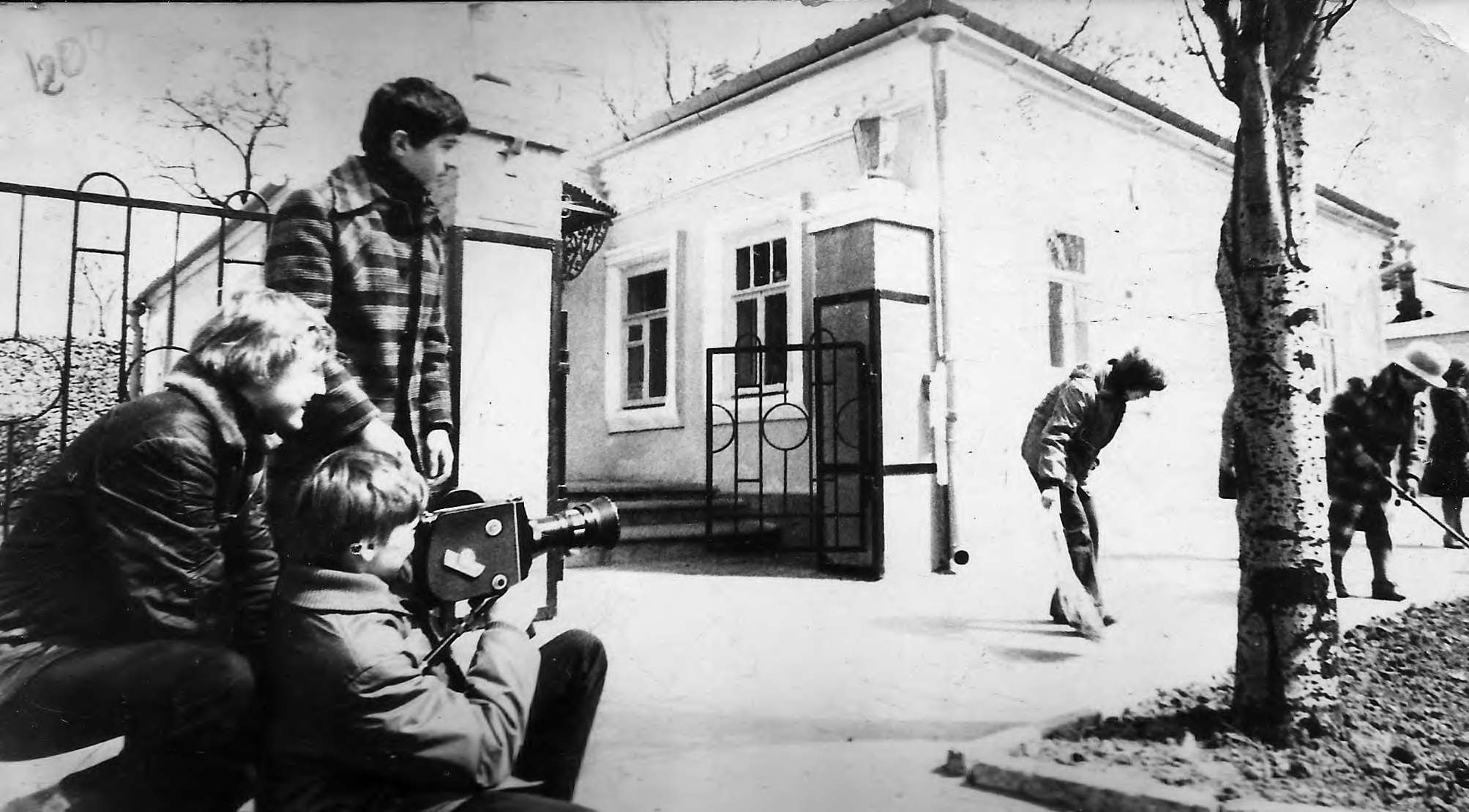 Любительская киностудия Пионер во время