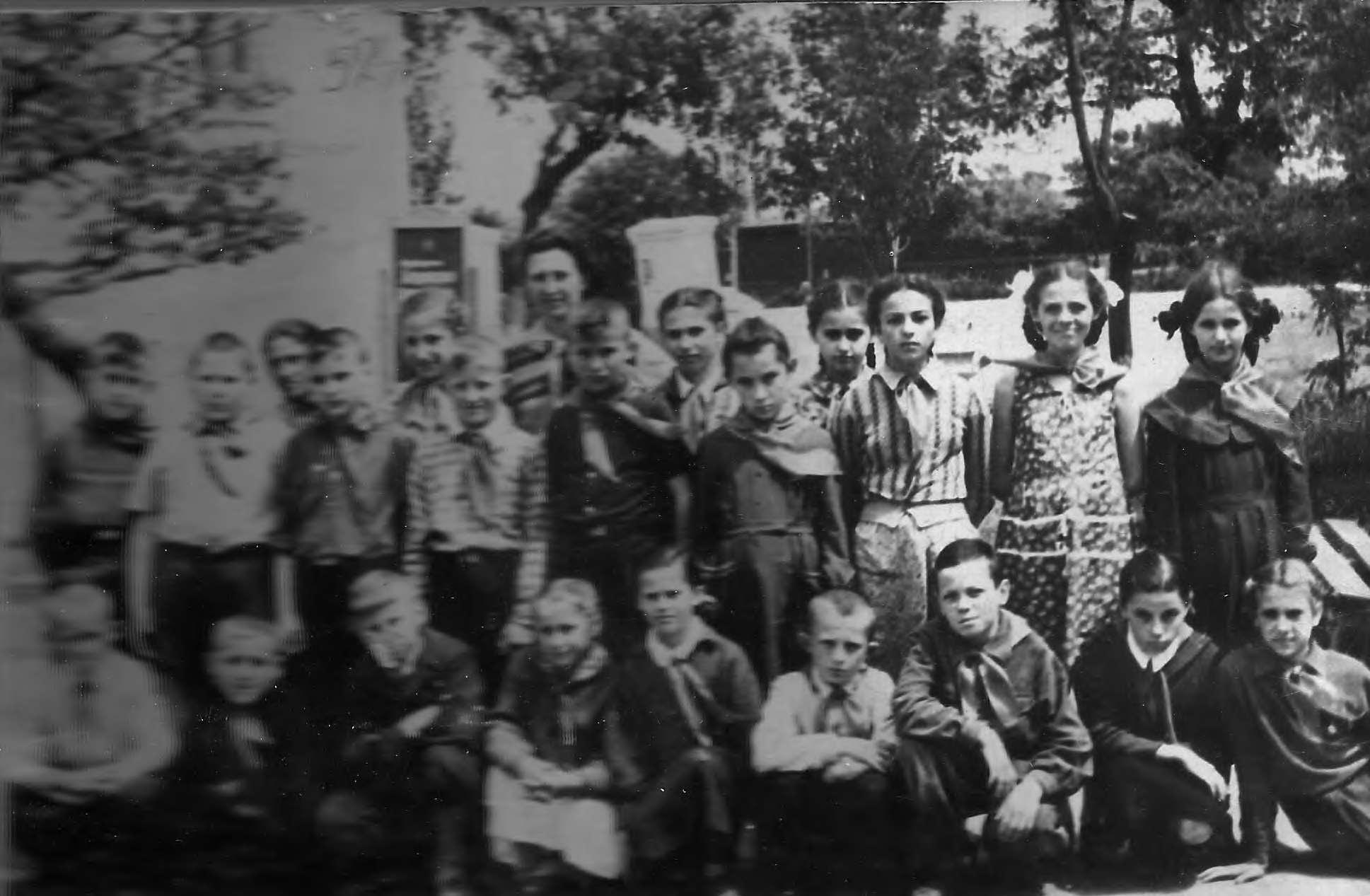 Сводный пионерский отряд № 2 при ДП, Ст.