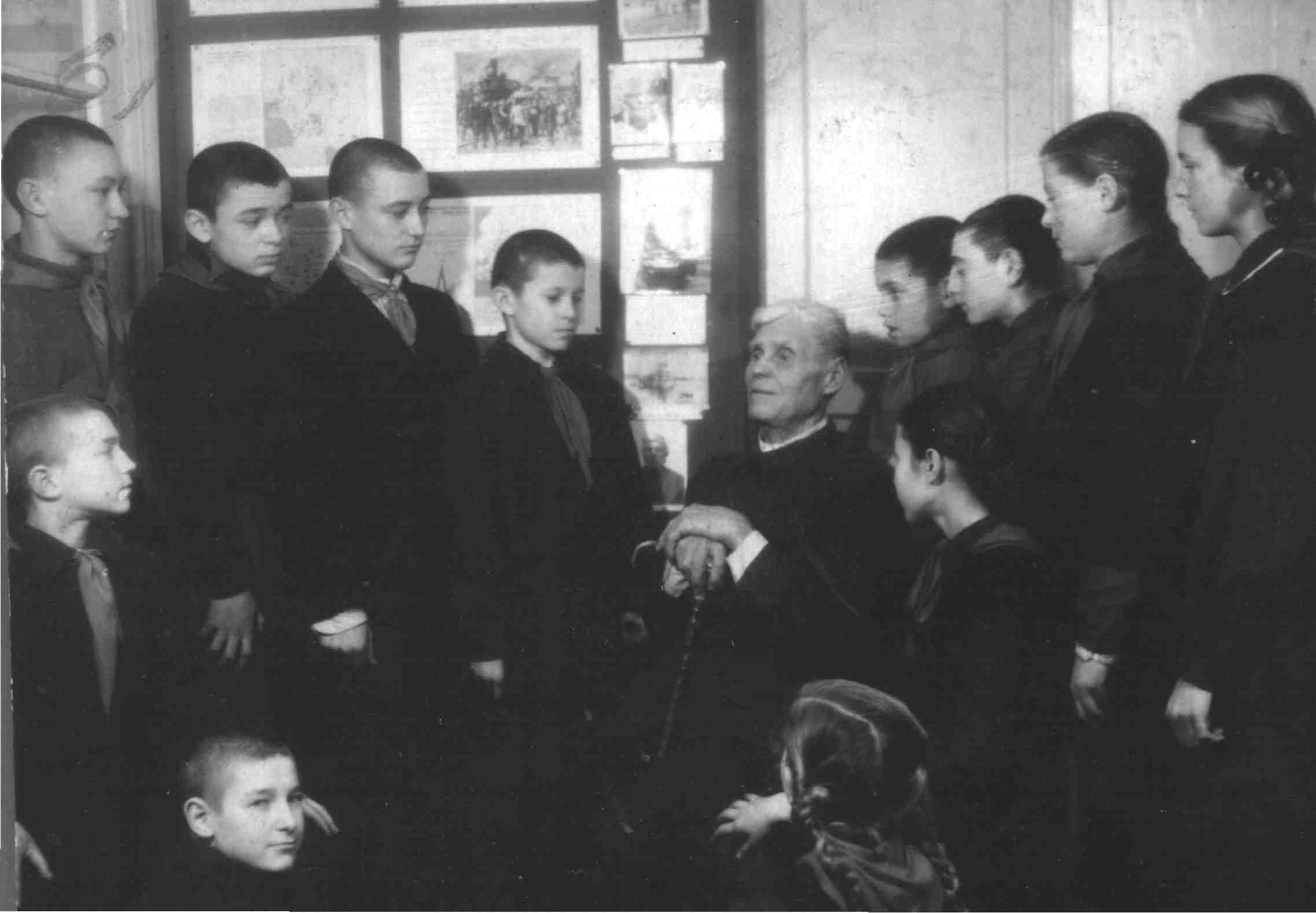 Встреча воспитанников краеведческого кру