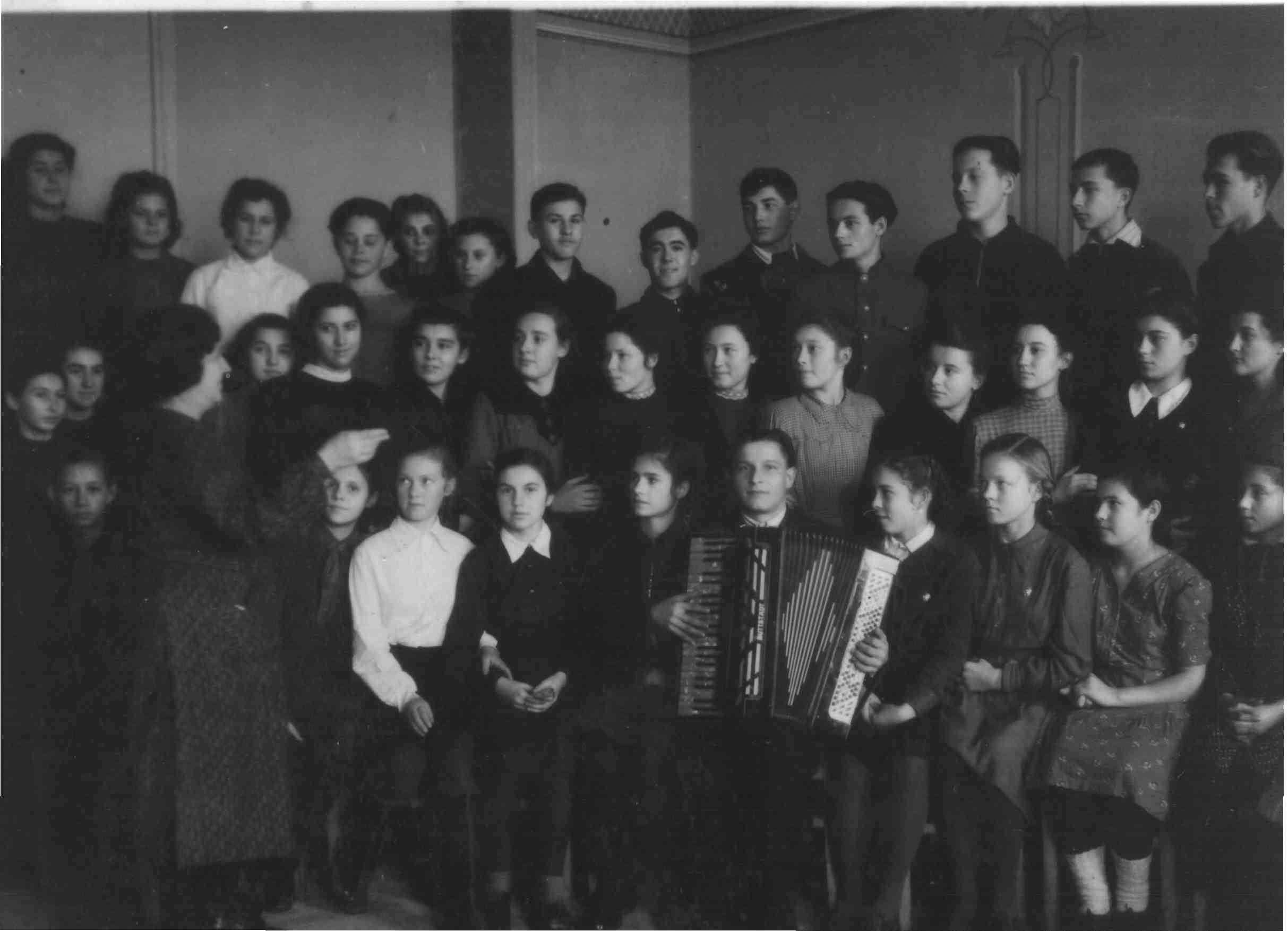 Хор ДП, 1951 г, рук