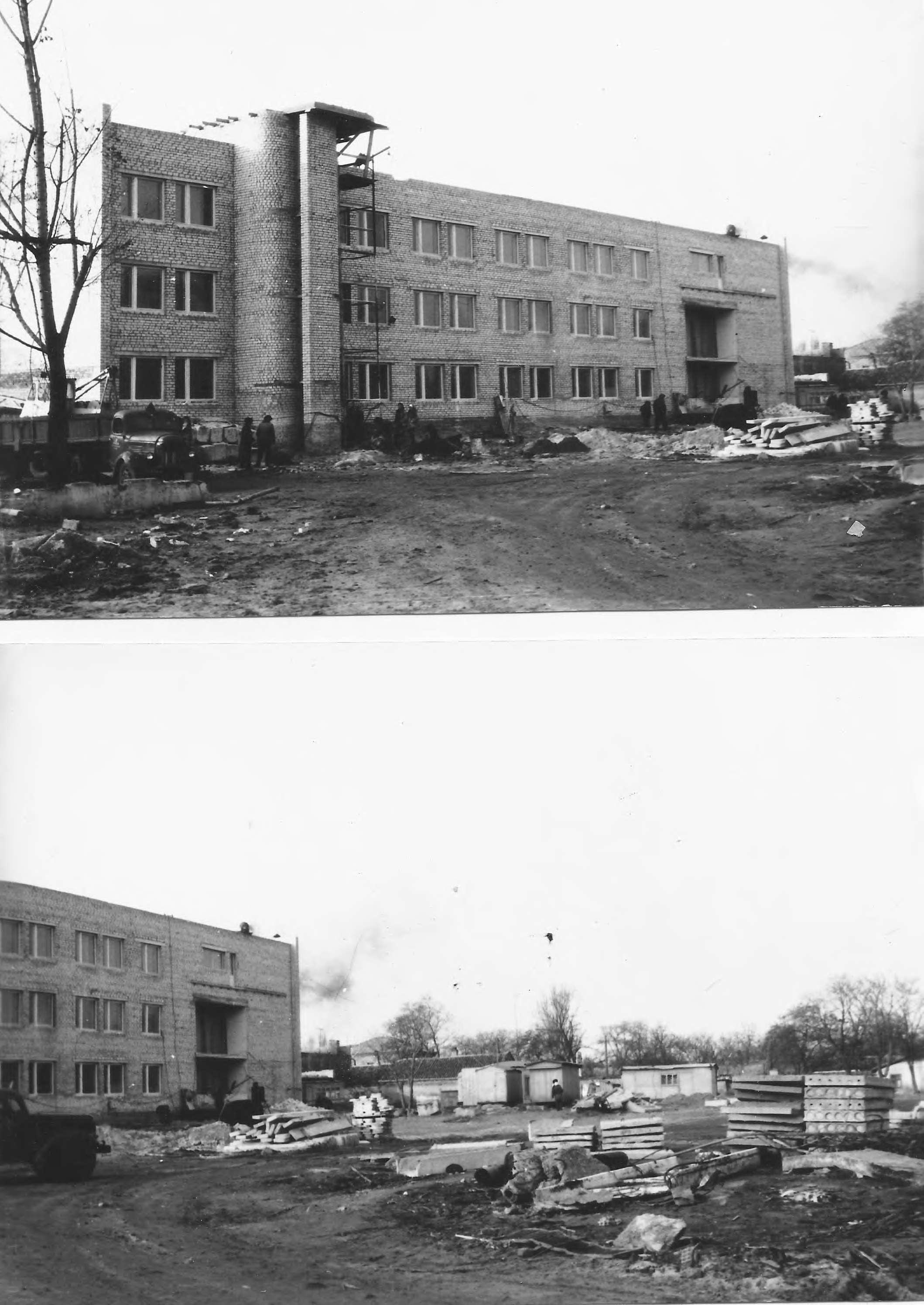 Строительство ДП, 70-е