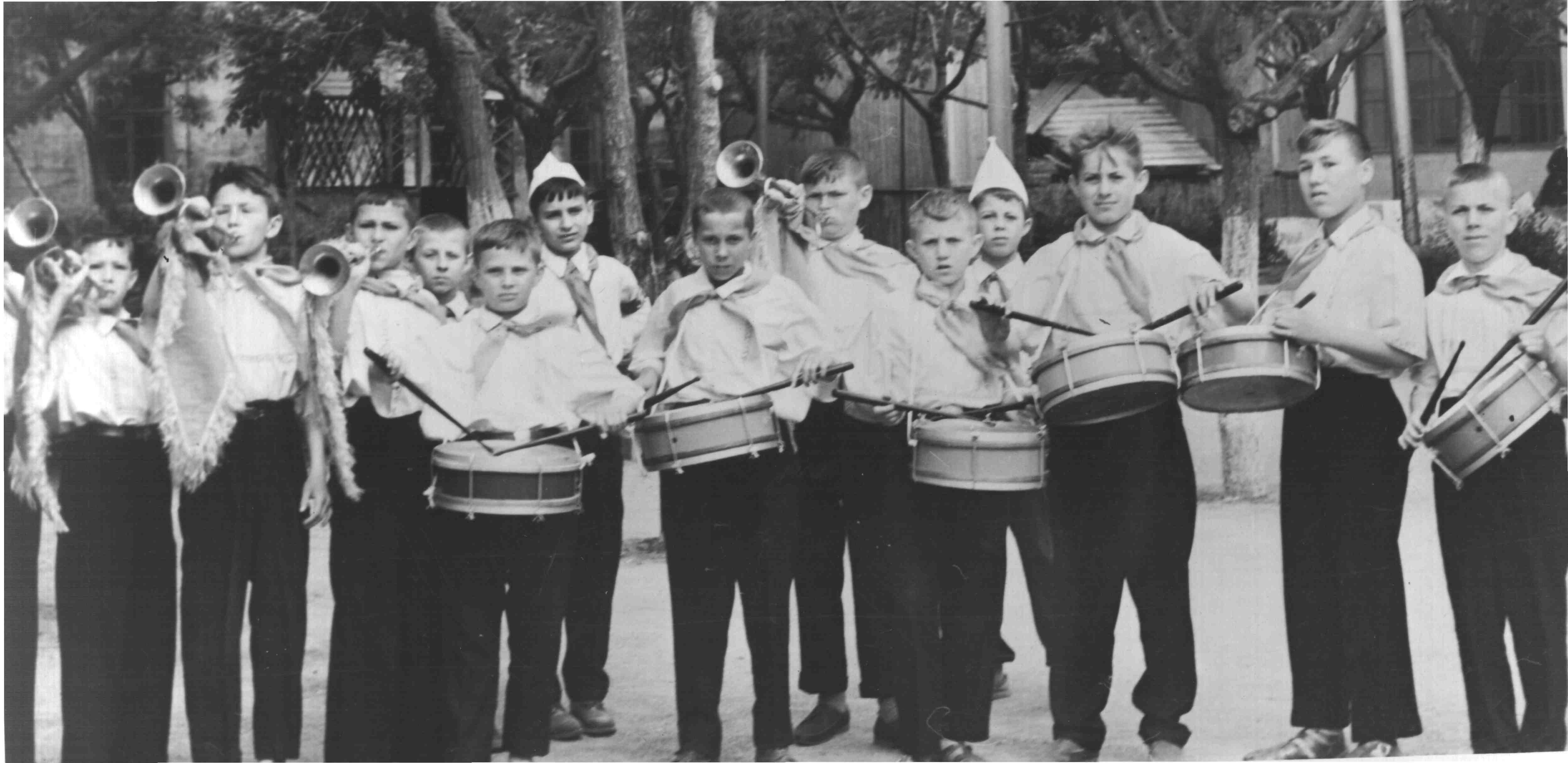 Анасамбль барабанщиков