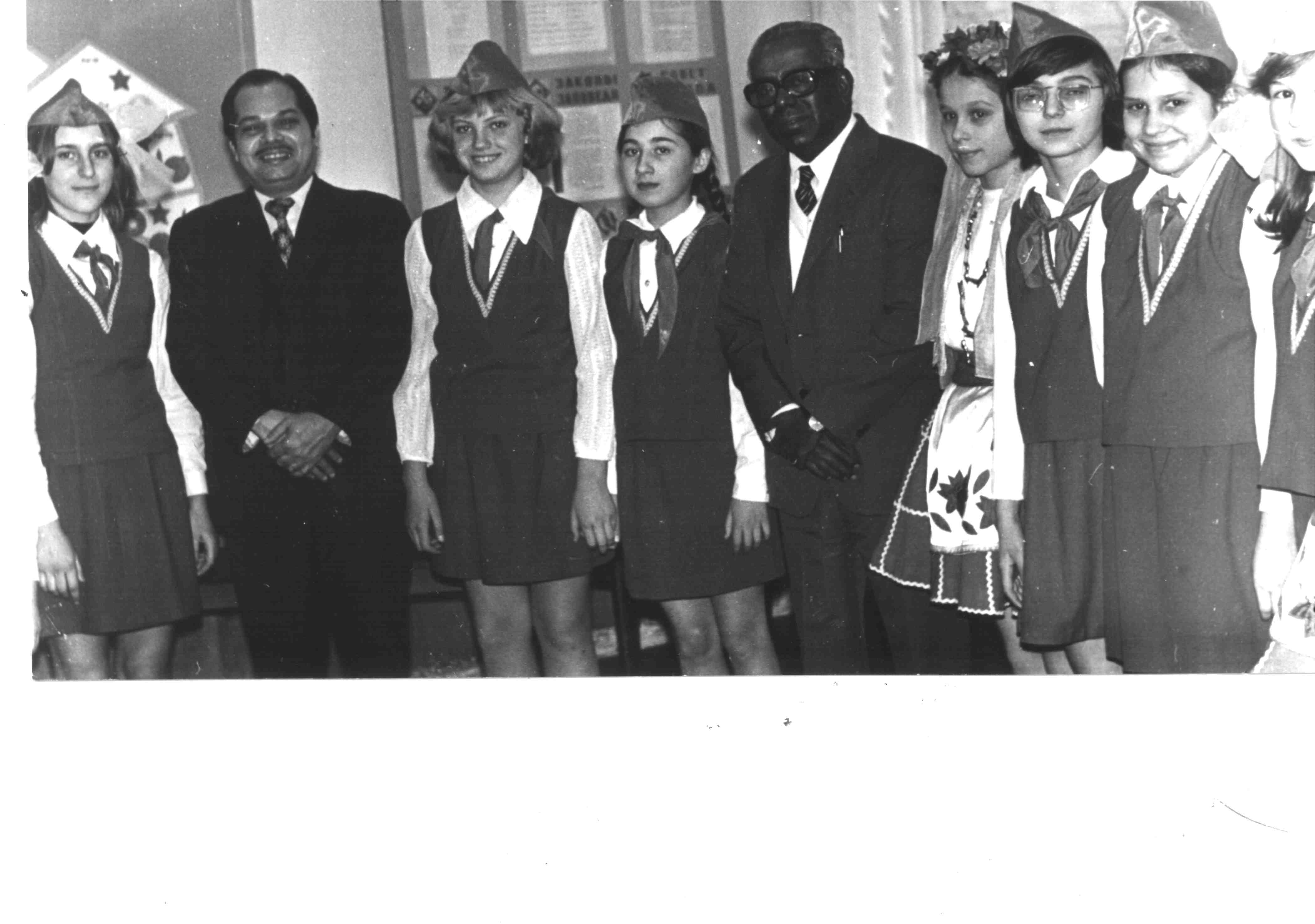 Встреча иностранной делегации КИД