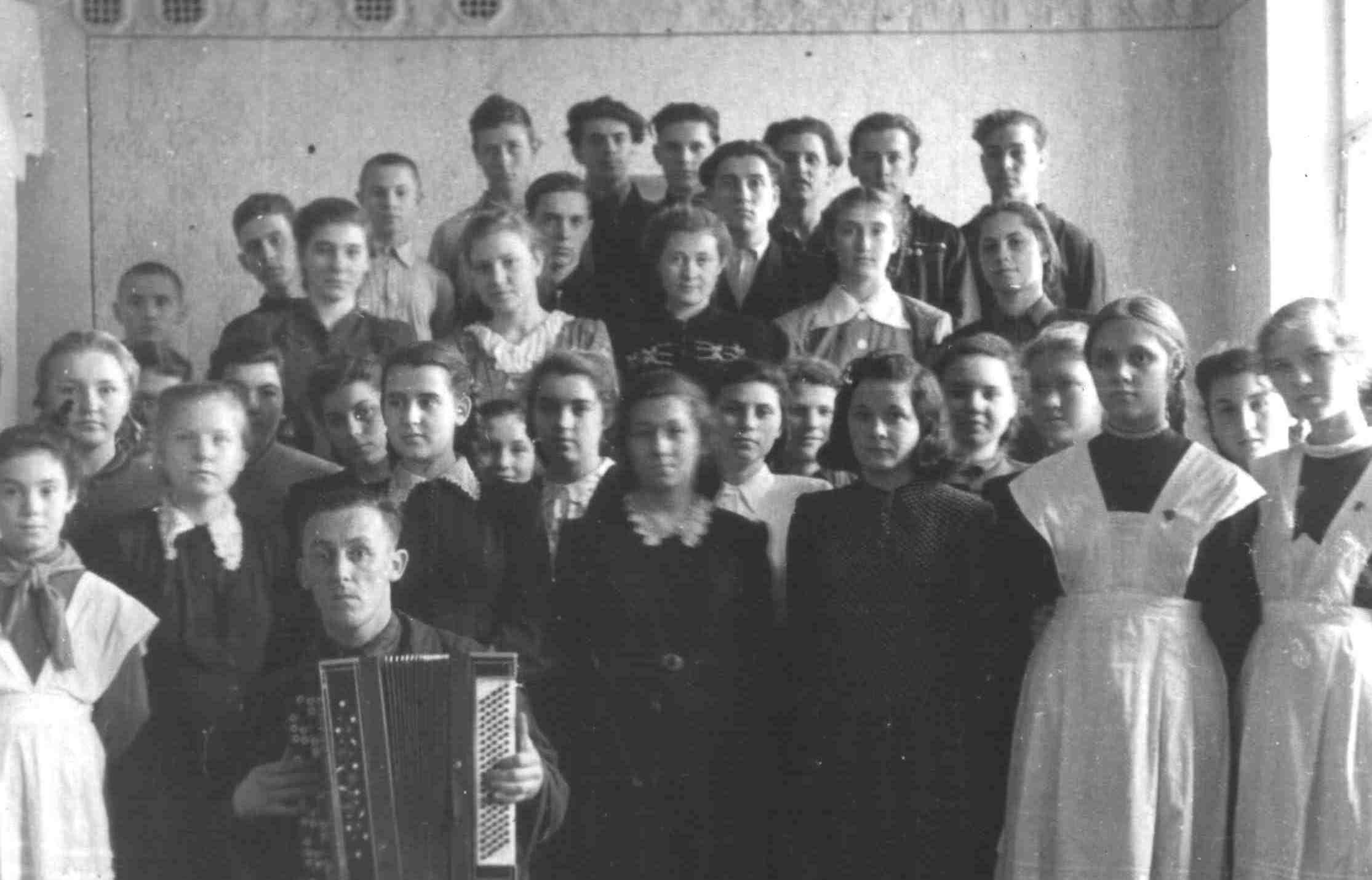 Хоровой коллектив - участник концерта