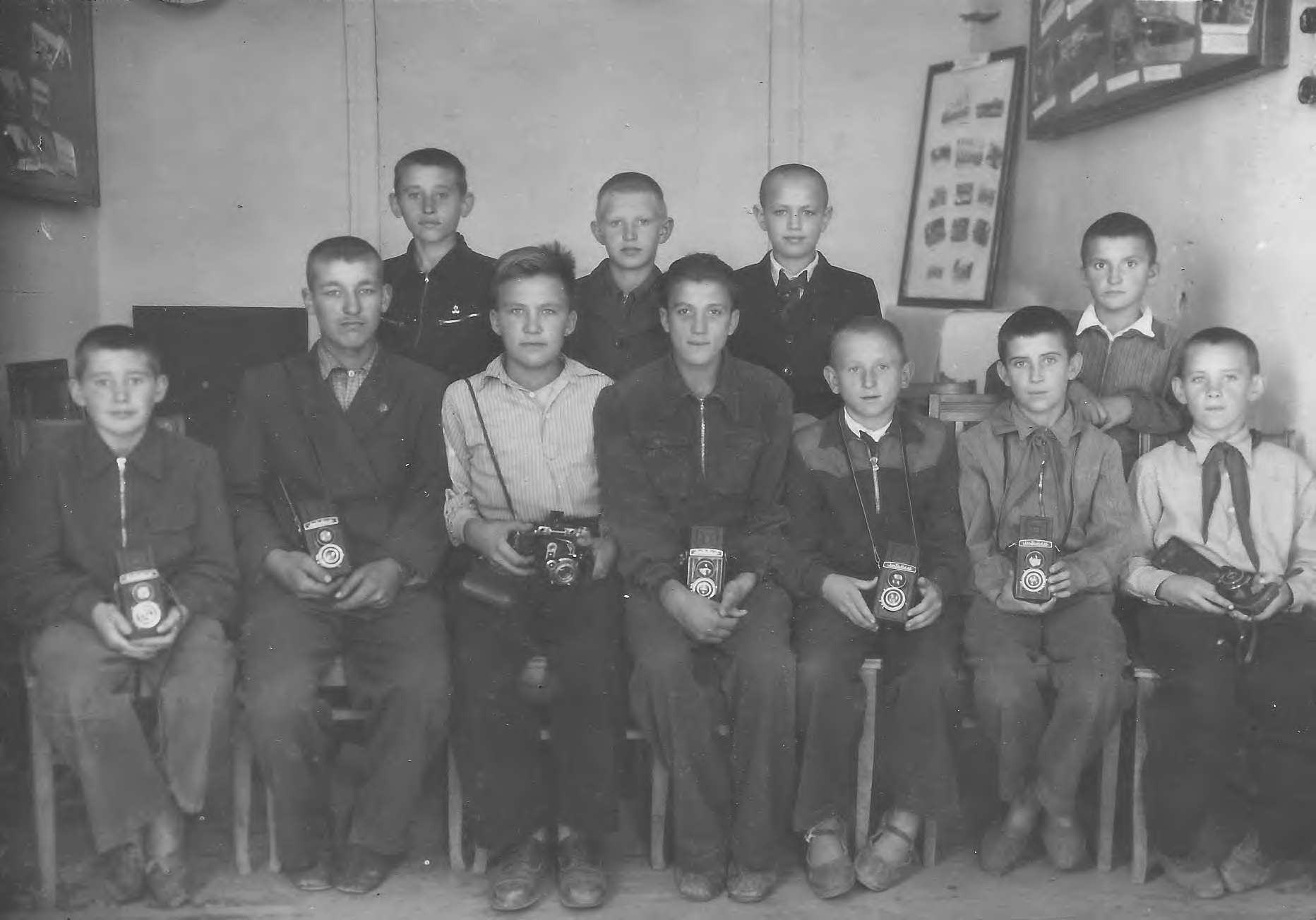 Участники фотокружка ДП
